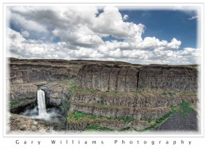 Photograph of Palouse Falls in southeastern Washington