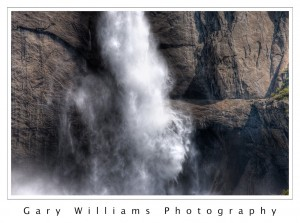 Photograph of  Yosemite Falls in Yosemite National Park