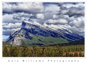 Photograph of the Banff Formation near the town of Banff, Canada