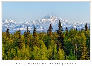 Photograph of Mt. McKinley in Alaska