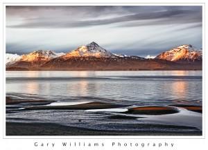 Photograph of Kachemak Bay in Homer, Alaska