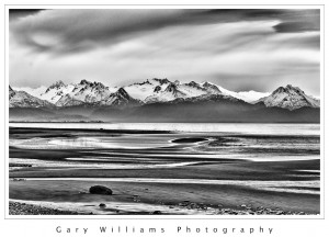 Photograph of Kachemak Bay in Homer, Alaska