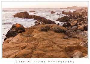 Photograph of a rocky beach at Salt Point State Park in Northern California