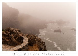 Photograph of a rocky overlook at Patrick's Point State Park in Northern California