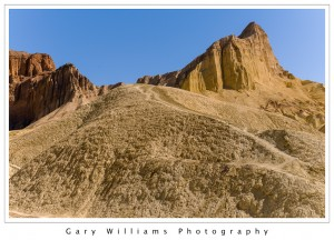 Photograph of Golden Canyon, Death Valley National Park