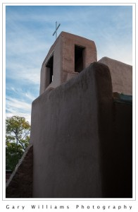Photograph of San Miguel Mission in Santa Fe, New Mexico