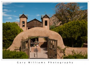 Photograph of El Santuario de Chimayo, New Mexico