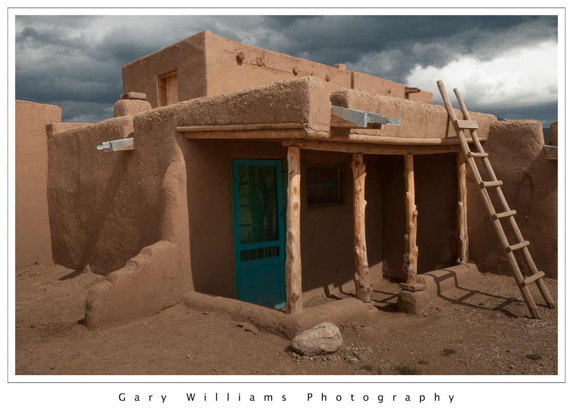 New mexico taos indian pueblo 3 gary williams photography for Adobe construction pueblo co