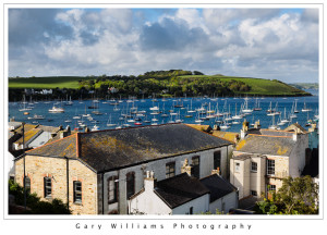 Photograph of Falmouth harbor, Falmouth, Cornwall, England