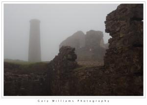 Photograph of Wheal Coates Tin Mine near Chapel Porth, Cornwall, England