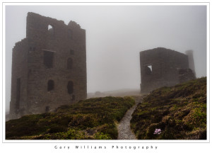 Photograph of Wheal Coates Tin Mine near Chapel Porth, Cornwall, England