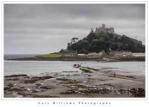 Photograph of St. Michael's Mount and Causeway, Cornwall, England