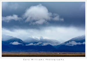 Photograph of the Sangre De Cristo Mountains near Taos, New Mexico