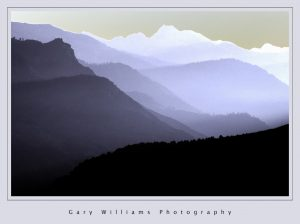 Photograph of Kings Canyon converted with a Solarizing filter