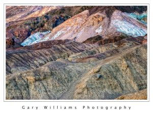 Photograph of Artist's Palette in Death Valley, California
