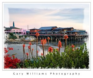 Photograph of Fisherman's Wharf, Monterey, California