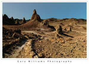 Photograph of the Trona Pinnacles